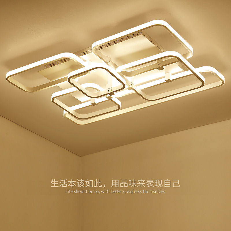 Surface mounted Modern Led Ceiling Lights Home Lighting 36W~178W Aluminum Ceiling Lamp For Living Room Bedroom luminaria цена 2017