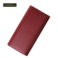 Women Wallet Genuine Leather Wallet Long Wallet For Ladies Day Clutch Purse Cowhide Wallet High Quality