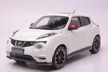1:18 литья под давлением модели для Nissan Juke Nismo RS 2014 белый сплав игрушечный автомобиль миниатюрный коллекция подарки
