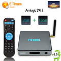 MECOOL BB2 Android TV Box 6.0 2 Г 16 Г Amlogic S912 Octa Core 4 К H.265 Декодирование 2.4/5 Г Dual Band WiFi Bluetooth Smart Media плеер