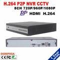 Новый прибыл 8 Канал HDMI Полный ВИДЕОНАБЛЮДЕНИЯ NVR 8-КАНАЛЬНЫЙ 1080 P Сети Видеорегистратор Поддержка ONVIF ip-камера видеонаблюдения системы безопасности комплект