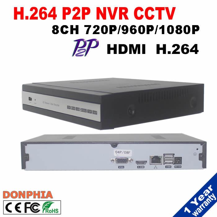 ФОТО New arrived 8 Channel HDMI Full CCTV NVR 8CH 1080P Network Video Recorder Support ONVIF for IP camera cctv security system kit