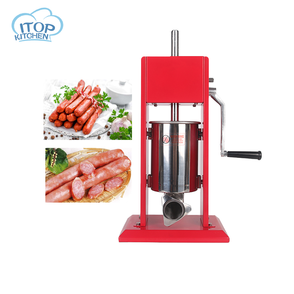 ITOP 3L Meat Maker Filler Commercial Vertical Sausage Stuffer