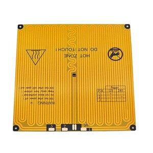 Image 2 - 220x220 12V ogrzewanie Ultrabase 3D drukarki platforma powierzchnia do zabudowy płyta szklana dla anycubic i3 mega MK2 MK3 3d drukarki hotbed części
