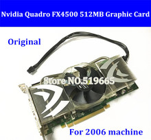 Original For MA356 2006 FX 4500 PCIe Graphic Card High Quality Quadro FX4500 512MB PCI-E Video Card with mini 6pin power cable