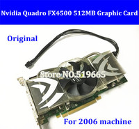 Original For MA356 2006 FX 4500 PCIe Graphic Card High Quality Quadro FX4500 512MB PCI E Video Card with mini 6pin power cable