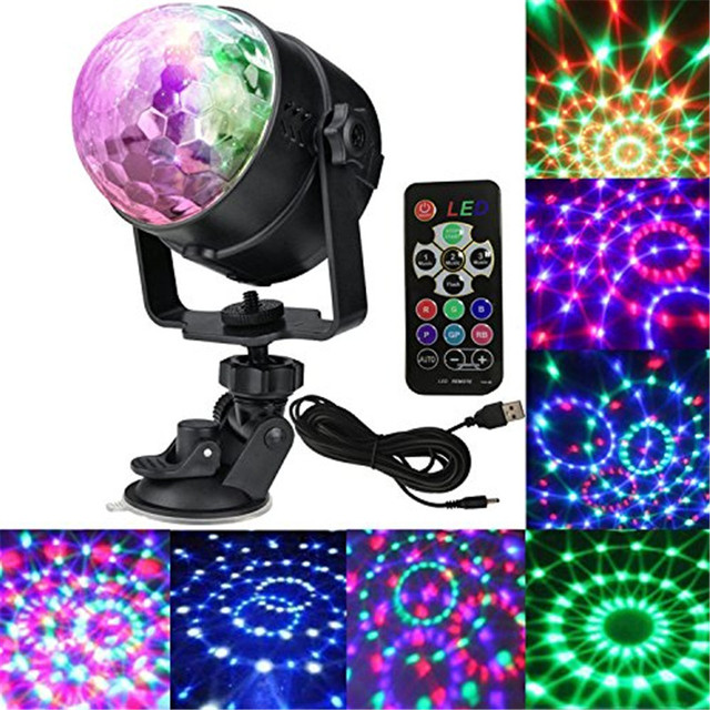 Outdoor Disco Lights 7 colors party lights disco light mini dj karaoke balls light 7 colors party lights disco light mini dj karaoke balls light outdoor car entertainment lights christmas workwithnaturefo