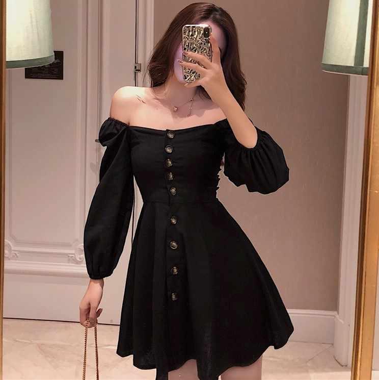ฤดูใบไม้ผลิฤดูร้อนผู้หญิงเสื้อผ้า 2020 เซ็กซี่คลับมินิผู้หญิงปิดไหล่ชุดเดรสสุภาพสตรี Vestidos MY2380