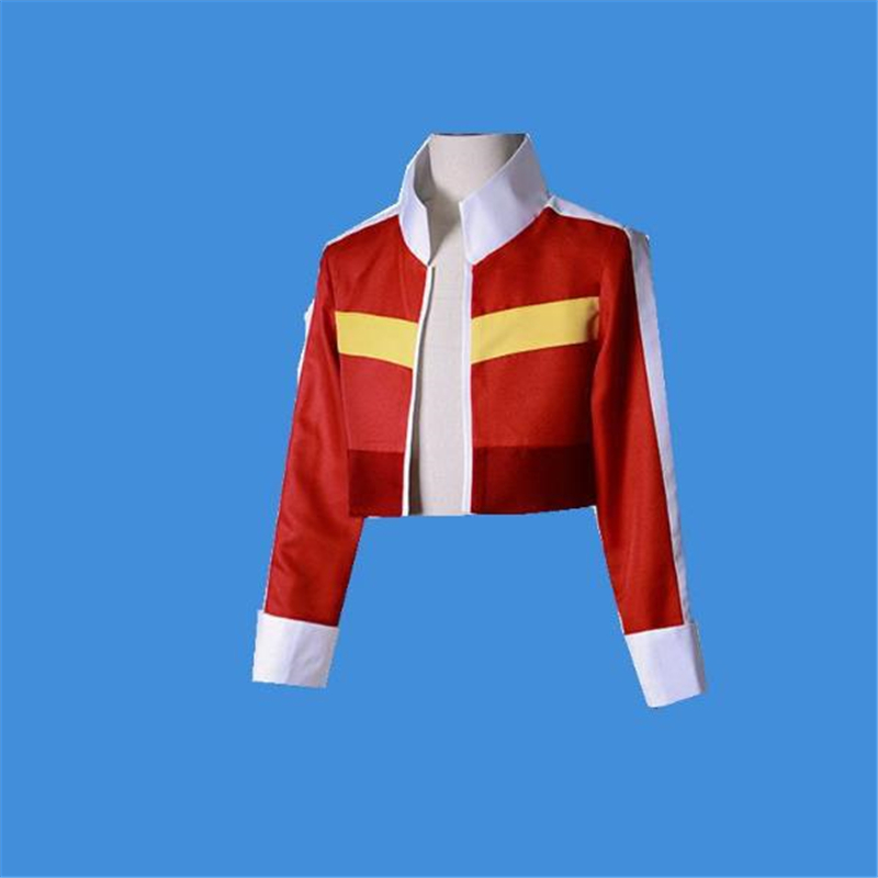 Cosplay Red T-shirt Voltron Defender Of The Universe The Legend Protector Anime Keith Coat Halloween Cosplay Costume