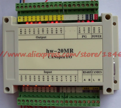 Free Shipping Programmable Controller 20MR CANopen Remote I/O Independent Intellectual Property Rights
