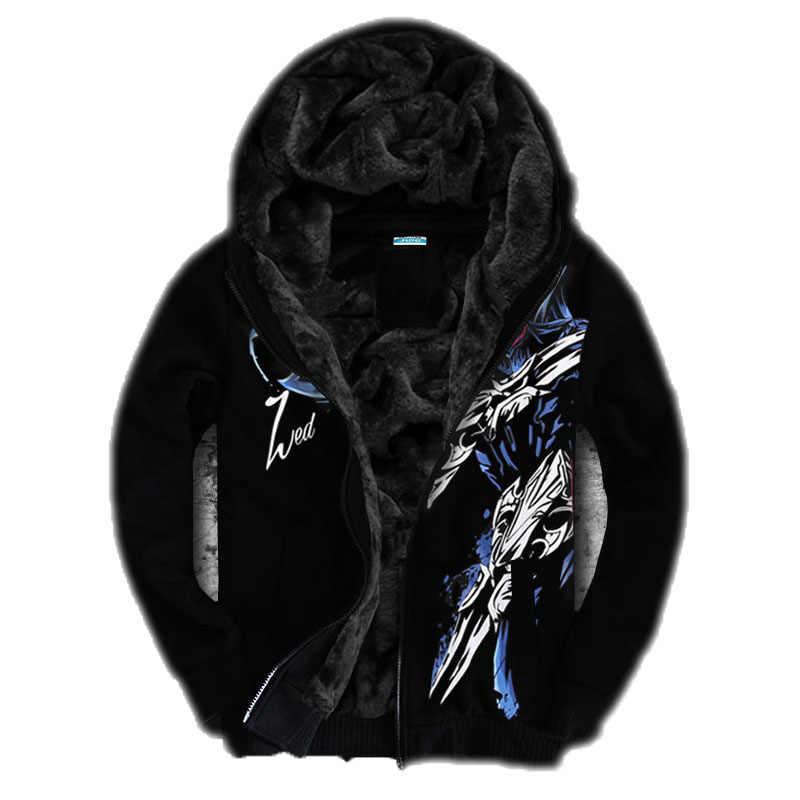 3D толстовки мужские толстовки LOL мужские/женские толстовки с капюшоном с принтом шляпы флисовые утепленные осенне-зимние мужские теплые пальто брендовая одежда