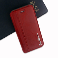 New Pierre Cardin Fashion Flip Case For IPhone 6 6S 4 7 Inch Genuine Leather And