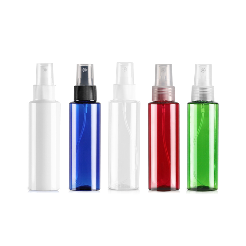 48 PCS/<font><b>LOT</b></font> <font><b>100ML</b></font> <font><b>Spray</b></font> Pump <font><b>Bottle</b></font>,Plastic Cosmetic Container,Empty Perfume Sub-bottling With Mist Atomizer Flat Shoulder image