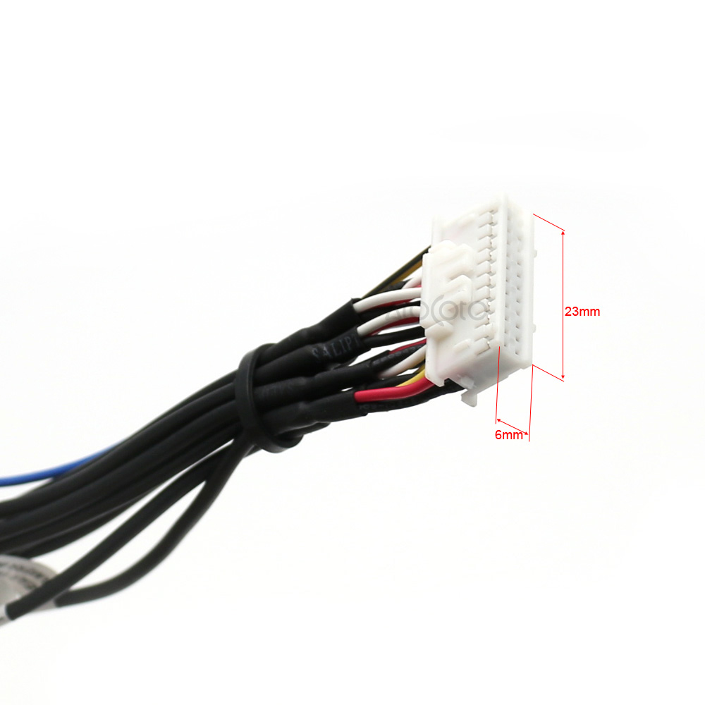 small resolution of 24 pin plug car stereo radio rca output wire harness wiring