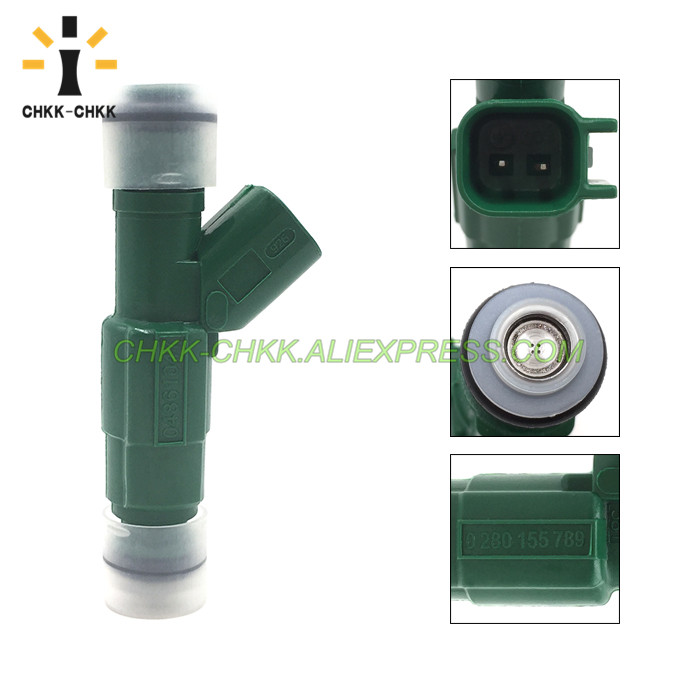 CHKK CHKK 0280155789 04861047 fuel injector for DODGE PLYMOUTH CARAVAN GRAND CARAVAN VOYAGER 3 3L V6 in Fuel Injector from Automobiles Motorcycles