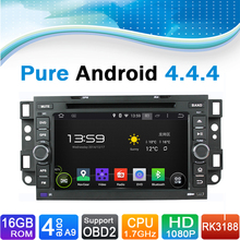 Pure Android 4.4.4 Car DVD Player GPS Navigation System for Chevrolet: OPTRA,SPARK,CAPATIVA,LOVA,EPICA,AVEO with Touchscreen
