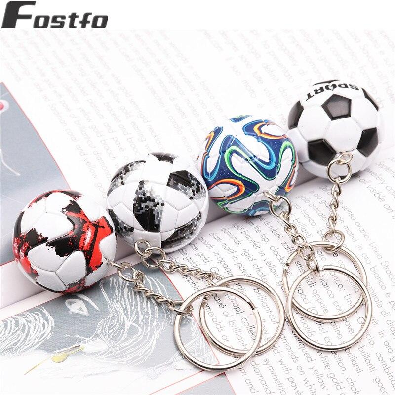 HOT 2018 Esportes Chaveiro Lembranças de Futebol PU Chaveiro De ... 96e47a80d018c