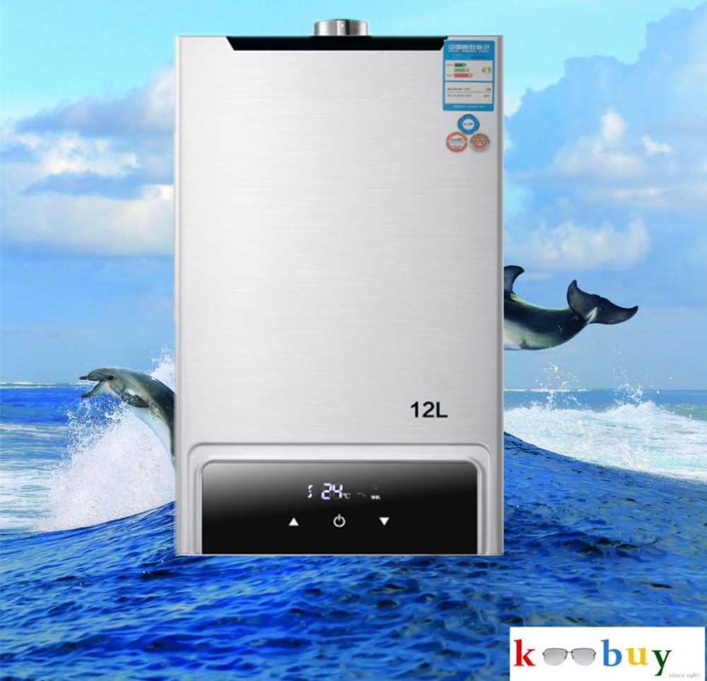2018 New  constent  Lgp water heater Instant / Stainless 12l Gas Lpg Hot Water Heater Propane Stainless 2800pa