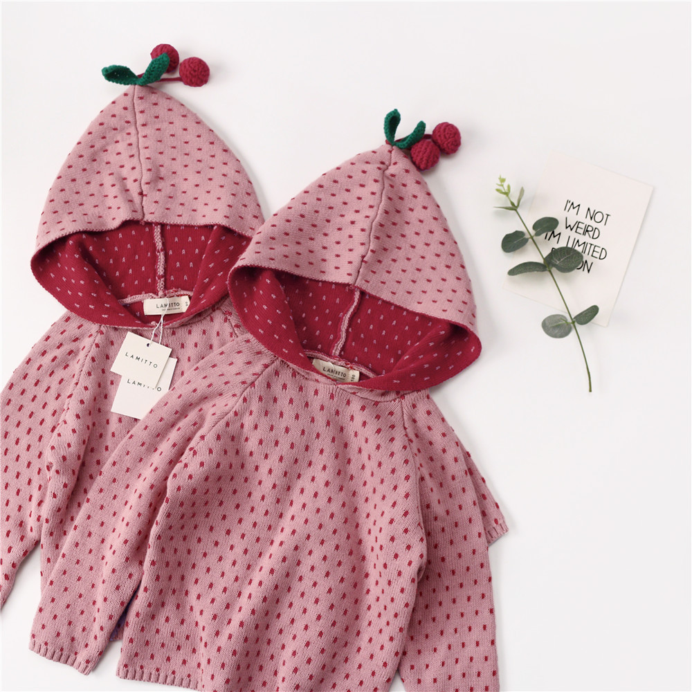 2018 autumn winter kids cherry pattern sweaters girls clothing children clothing vestidos christmas costume kids sweater 2017 autumn kids costume girls hanfu stage clothing photography costume song of the goose