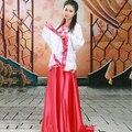 Las mujeres de La Dinastía Tang Hanfu Ropa Antigua Novia Traje de la Etapa Espectáculo de Danza Desgaste Photography Ropa de Danza Folk Chino