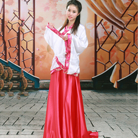 Women Tang Dynasty Hanfu Ancient Clothes Bride Costume Stage Dance Show Wear Photography Clothes Chinese Folk Dance