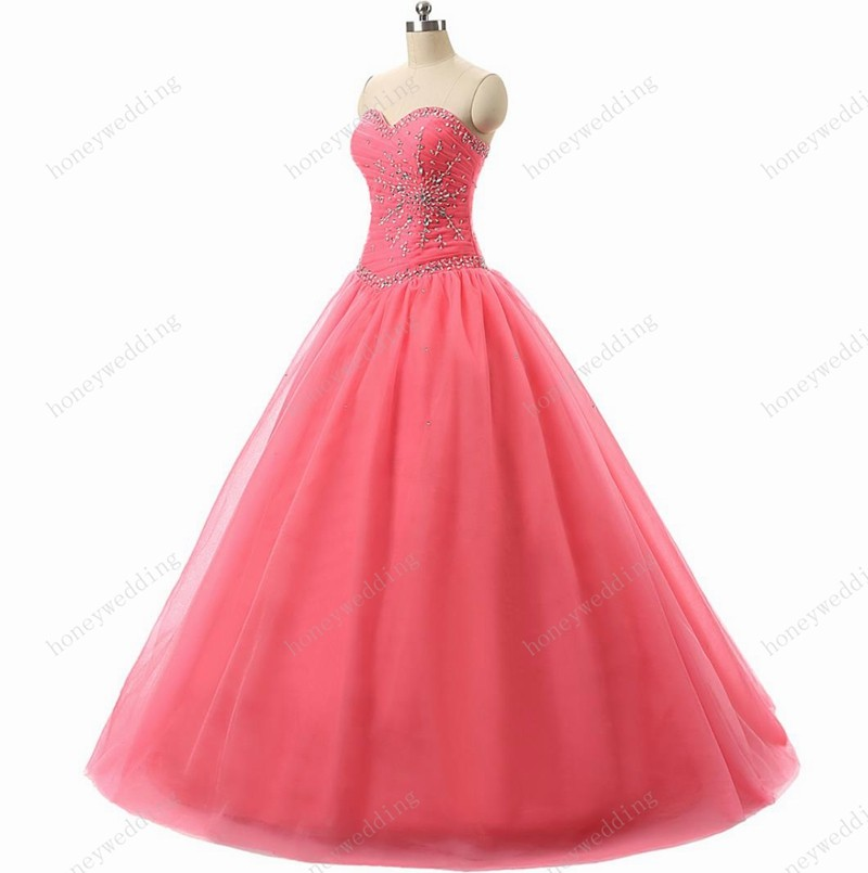 Hire Lnyer Full Beading Crystal Bodice Pearls Skirt Add Coarse Tulle Inside With 6 Ring Petticoat Burgundy Quinceanera Dresses Quinceanera Dresses