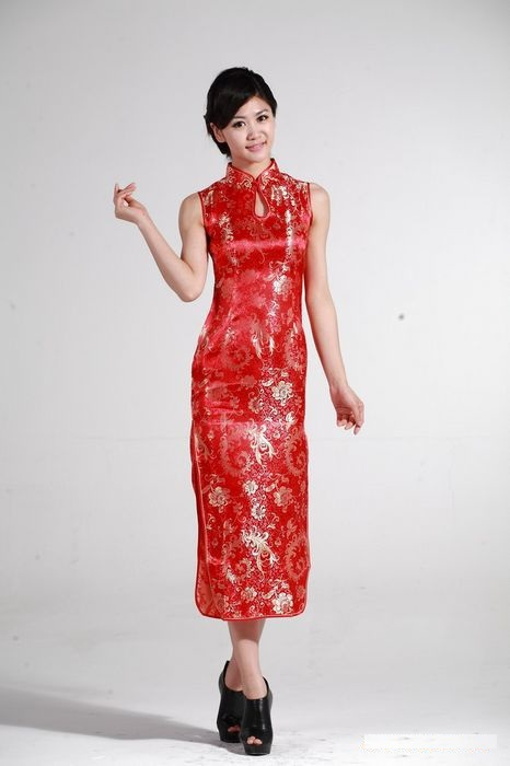 Online Get Cheap Chinese Red Dress -Aliexpress.com | Alibaba Group