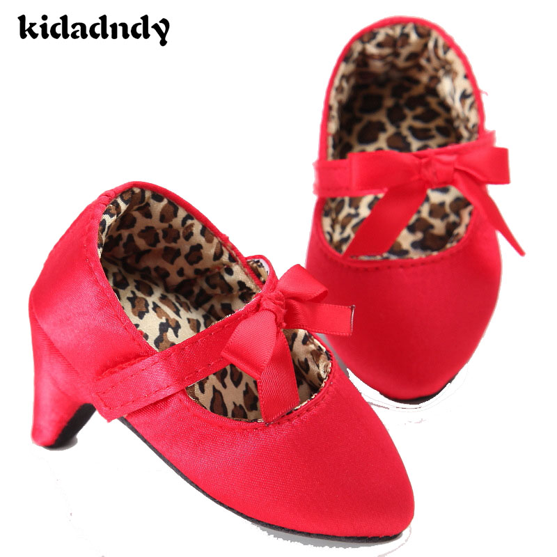 kidadndy Babies Shoes For Baby Girl Baby Moccasins Shoes Mocassins Toddler Soft Bottom Shoes High Heels For Child XUE001LLR