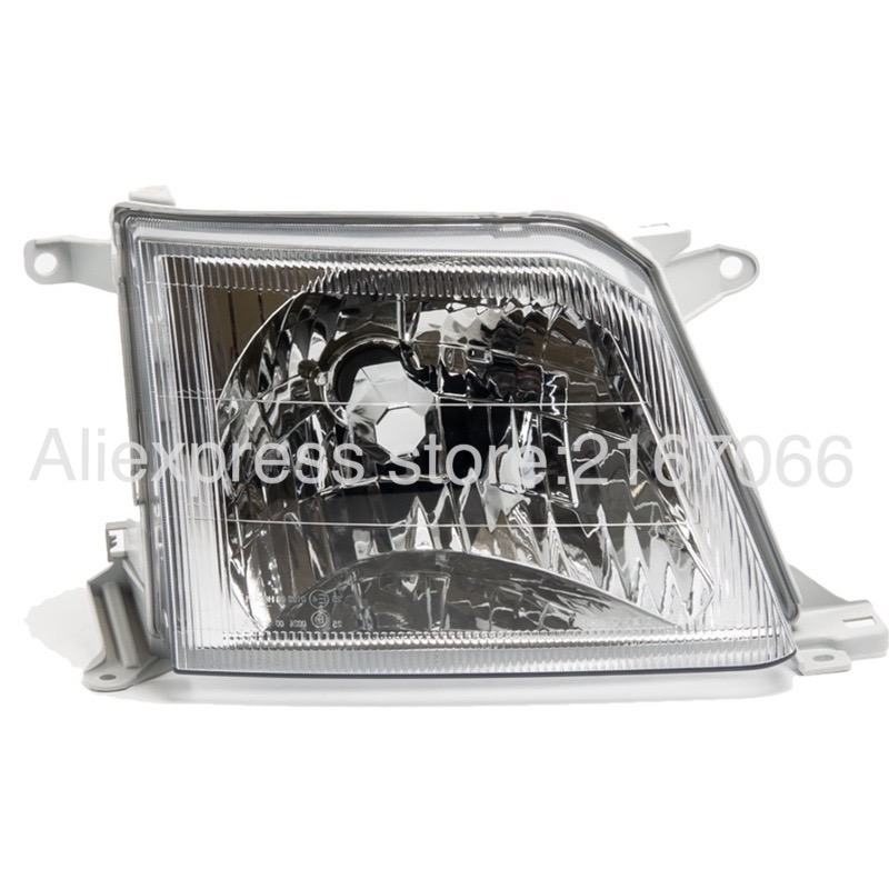 Headlight Right for Toyota Land Cruiser PRADO 90 2000 2001 2002 Headlamp Passenger Side - Clear