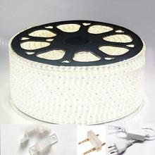 220v 230v 240v Led Strip Light Smd 3014 Waterproof Ip67 Ip68 Warm White Blue Outdoor Tape