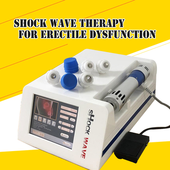 New Portable lowest intensity Acoustic radial shock wave for erectile dysfunction use for orthopaedics physiotherapy machine