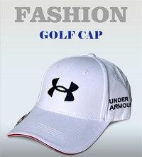 Бейсбольный маркером анти-уф регулируемые рыбы шляпы cap мяч гольф белый мужчины