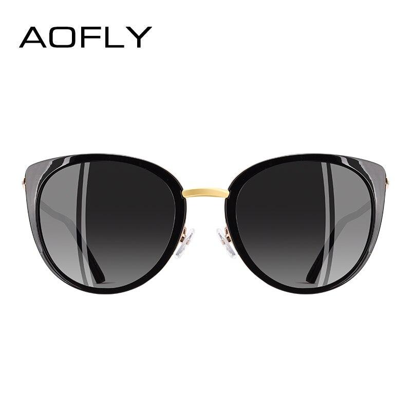 1c8fc03a65 Comprar AOFLY diseño de marca de Gafas de sol de las mujeres de Metal de  estilo Vintage de mujer Gafas de sol polarizadas tonos mujer Gafas A139  Online ...