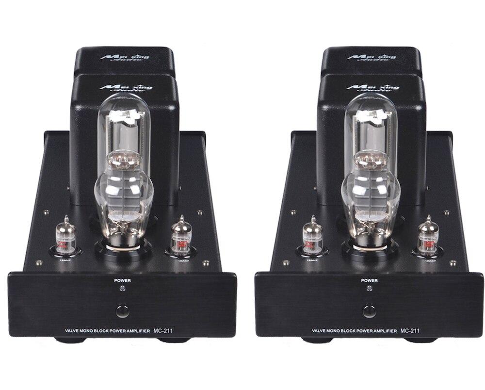 Meixing Mingda MC-211A MonoBlock Pure Power Tube amplifier HIFI EXQUIS Class A 300B 211 Lamp Amp Standard version цена 2017