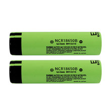 цены Hot 2PCS 3.7V NCR 18650B 3400mAh Rechargeable Batteries For Panasonic 18650 Battery/Power Bank/Portable Charger/Light