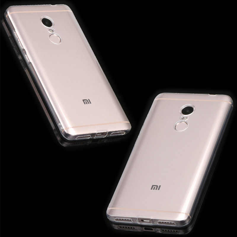 واضح Fundas ل Xiaomi Redmi ملاحظة 4X4 حالة لينة غطاء سيليكون ل Redmi ملاحظة 4 النسخة العالمية شفافة يغطي 64 32 GB