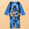 Crianças cama set Crianças inverno pijamas set meninos 2 pcs Star Wars mircrofleece sleepwear conjunto de roupas de Bebê quente pjs