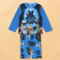 Kids sleeper set Children winter pajamas set  boys 2pcs mircrofleece sleepwear clothing set  Baby Star Wars warm pjs