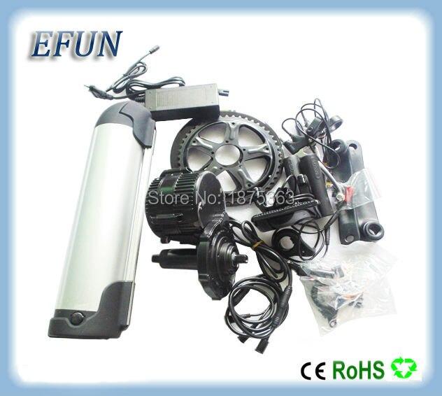 Free Shipping Bafang Mid Drive Motor Kits Bbs01 36v 250w