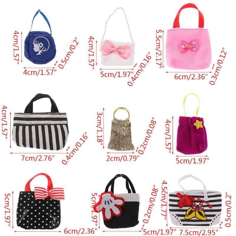 Handmade Mini Bolsa Adequado Para Blyth AZ Licca Boneca Pullip BJD Bonecas Acessórios N28_A