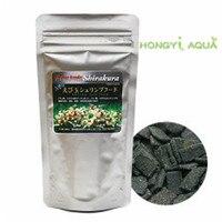 Paquete de alimento para peces  cristal  gambas  comida de alta calidad shirakura  cristal  camarón  alimento para peces  80g