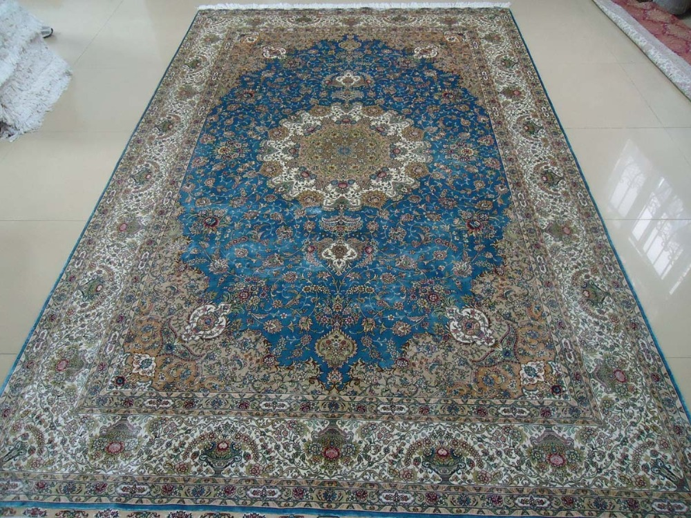 200cmx300cm 6 56ftx9 84ft   chinese handknotted spun silk carpet  rugs top  quality 2016 turkish blue medallion design. Popular Hotel Carpet Suppliers Buy Cheap Hotel Carpet Suppliers