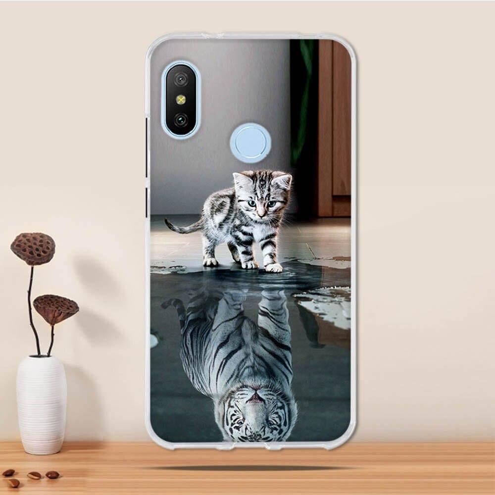 Case For Xiaomi Redmi Mi A2 Lite Case Cover Silicone Funda For Xiaomi Redmi 6 Pro Case Coque For Redmi Mi A2 Lite / 6 Pro Cover