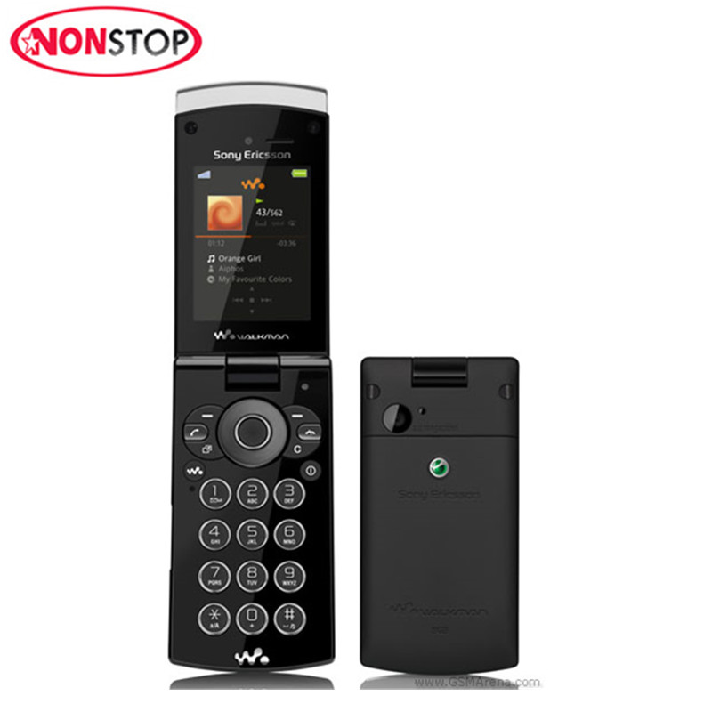 W980 Original Sony Ericsson W980i Unlocked Cell Phone 2.2Inches GSM 3G 3.15MP 8GB ROM Cellphone Refurbished Mobile Phone(China)