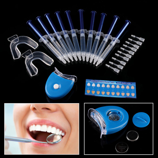 1 Conjunto De Clareamento Dos Dentes 44 Peroxido Dental Sistema De