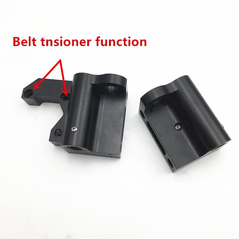 upgrade de alumínio X motor X tensor