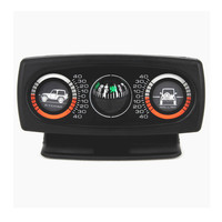 Hypersonic 3in1 Auto Pitching Rolling Meter Vehicle Gradiometer Vehicle Balance Navigating Car Compass Ball For SUV Off-road