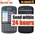 Original blackberry q10 telefone móvel 3g 4g 8.0mp dual-core de rede 1.5 GHz 2G RAM 16G ROM Desbloqueado Telefone Q10 Livre grátis