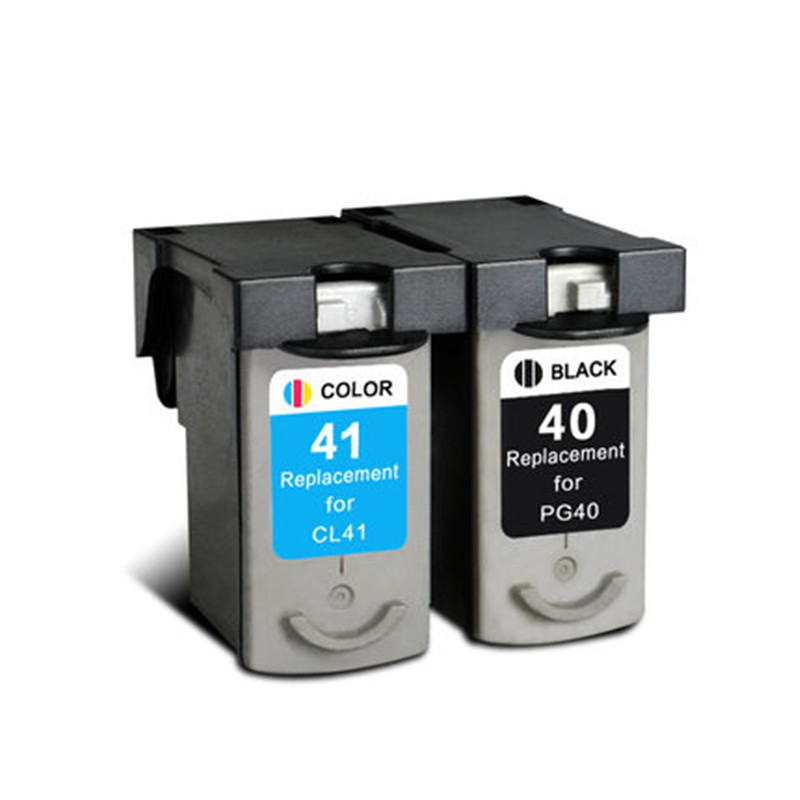 Ink Cartridge PG 40 PG40 40 CL 41 CL41 41 Compatible For Canon PIXMA FAX JX210P FAX JX300 FAX JX500 FAX JX200 Printer Inkjet