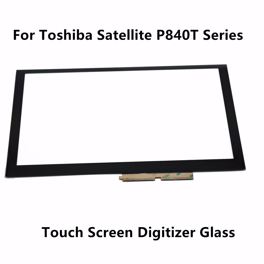 14 Touch Panel Screen Digitizer Glass Sensor Replacement For Toshiba Satellite P840T Series P840T-1007X P840T-1008X P840T-1009X original 14 touch screen digitizer glass sensor lens panel replacement parts for lenovo flex 2 14 20404 20432 flex 2 14d 20376